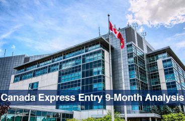 Canada Express Entry 9-Month Analysis: Record Breaking ITAs in 2019 as compared to 2018