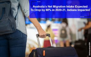 Indians impacted with Australia net intake drop