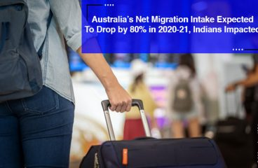 Australia's Net Migration Intake Expected to Drop by 80% in 2020-21, Indians Impacted