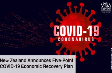 New Zealand Announces Five-Point COVID-19 Economic Recovery Plan