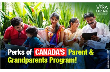 Perks of Canada's Parent and Grandparents Program