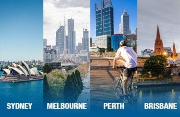 Four most Livable cities of Australia