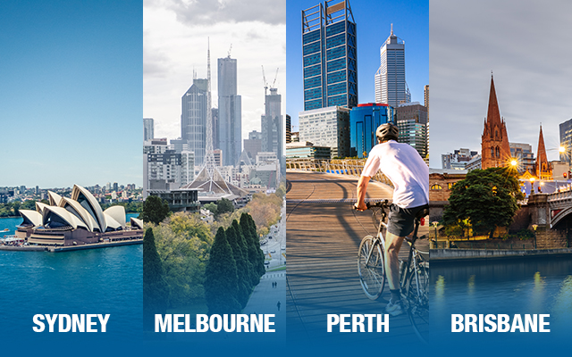 FOUR most Liveable cities of Australia